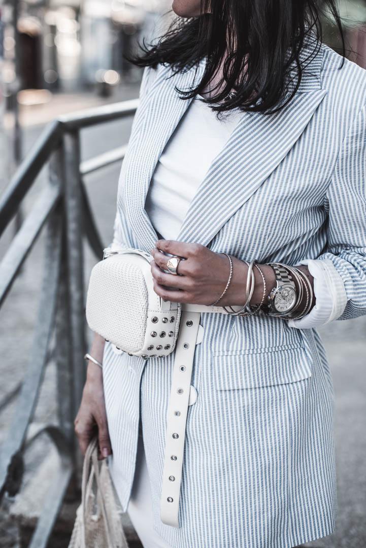 Sommerblazer darum lieben wir gestreifte Blazer für erwachsene Sommer Outfits Julies Dresscode Fashion Blog