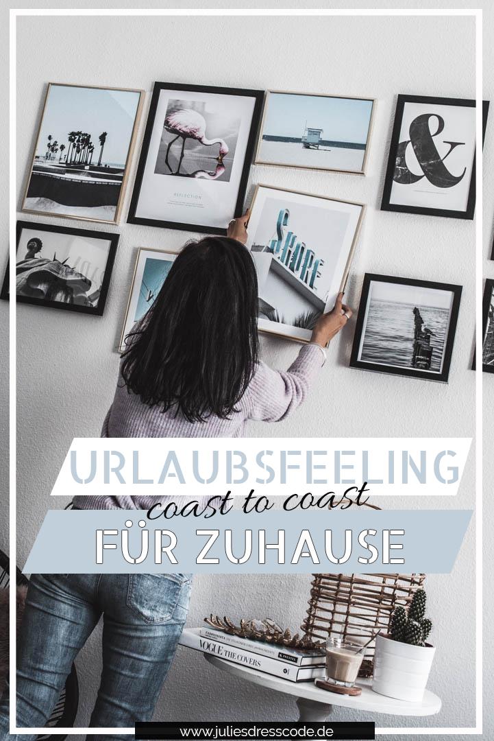 Bilderwand gestalten mit Desenio Studio-Kollektion Coast to Coast Julies Dresscode Fashion & Lifestyle Blog