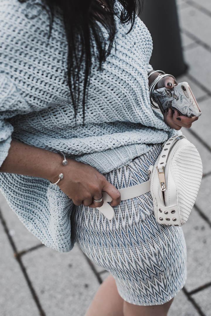 Chunky Knit Sweater im Sommer mein Outfit für einen kühlen Sommertag Julies Dresscode Fashion & Lifestyle Blog