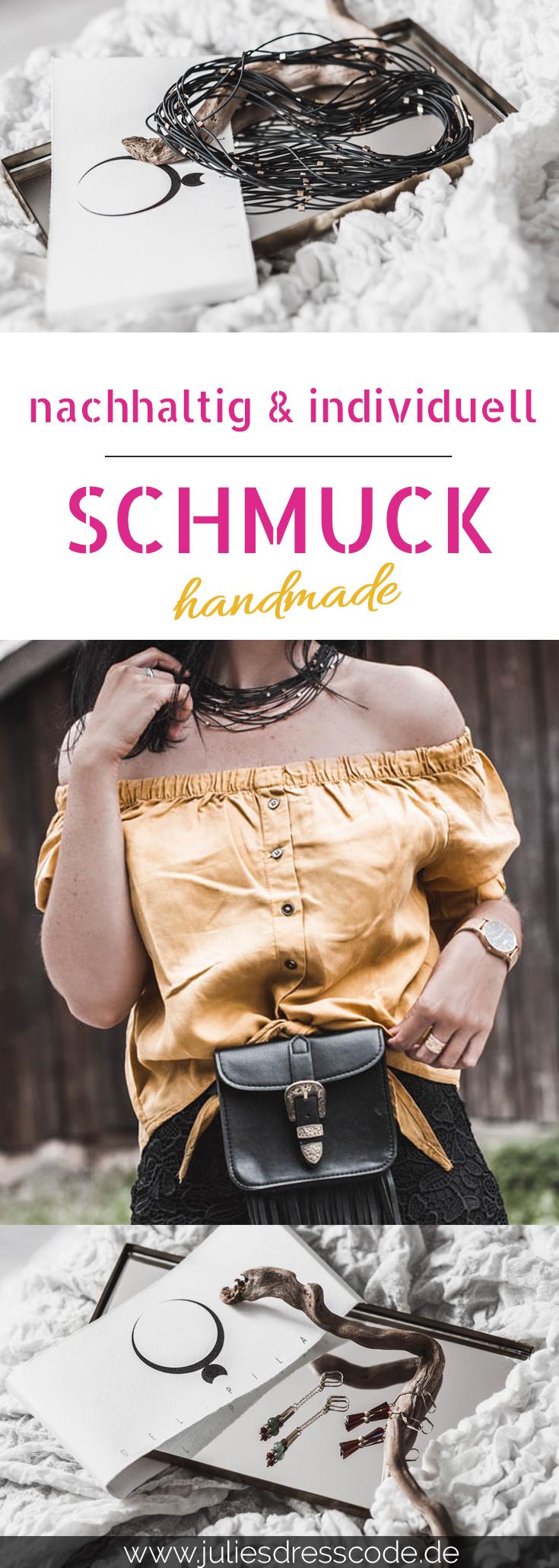 Del Pilar - handgemachter Schmuck aus Berlin Julies Dresscode Fashion Lifestyle Blog