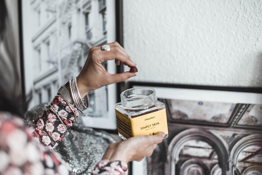 Fruchtig, lecker & vegan - Vitasation Simply Skin für schöne Haut Julies Dresscode Fashion & Lifestyle Blog
