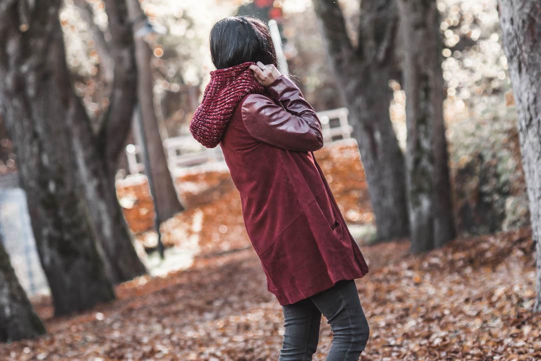 Die perfekte rote Lederjacke für den Herbst Julies Dresscode Fashion & Lifestyle Blog