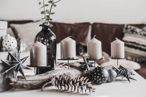 Schneller DIY Adventskranz aus Treibholz Julies Dresscode Fashion & Lifestyle Blog