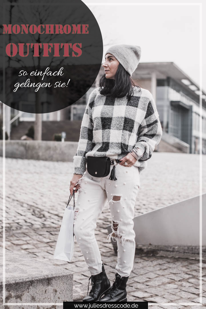 Monochrome Outfits – so gelingt der Look Julies Dresscode Fashion & Lifestyle Blog