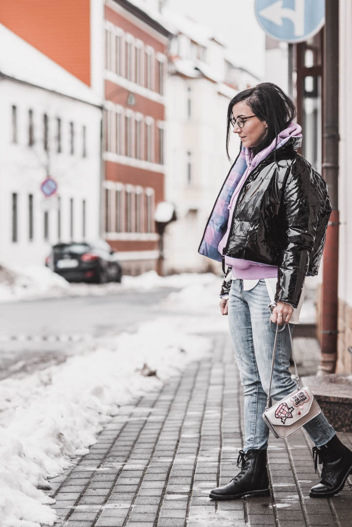 Glänzende Looks - so tragen wir den Lackleder Trend Julies Dresscode Fashion & Lifestyle Blog