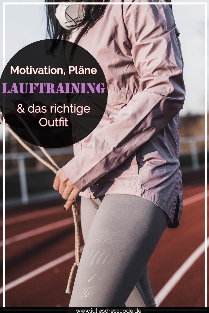 Das richtige Outfit fürs Lauftraining : so motivieren wir uns Julies Dresscode Fashion und Lifestyle Blog