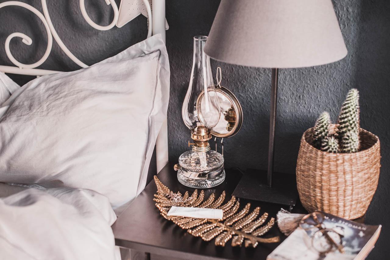 deko-accessoires für's schlafzimmer mit oriental touch