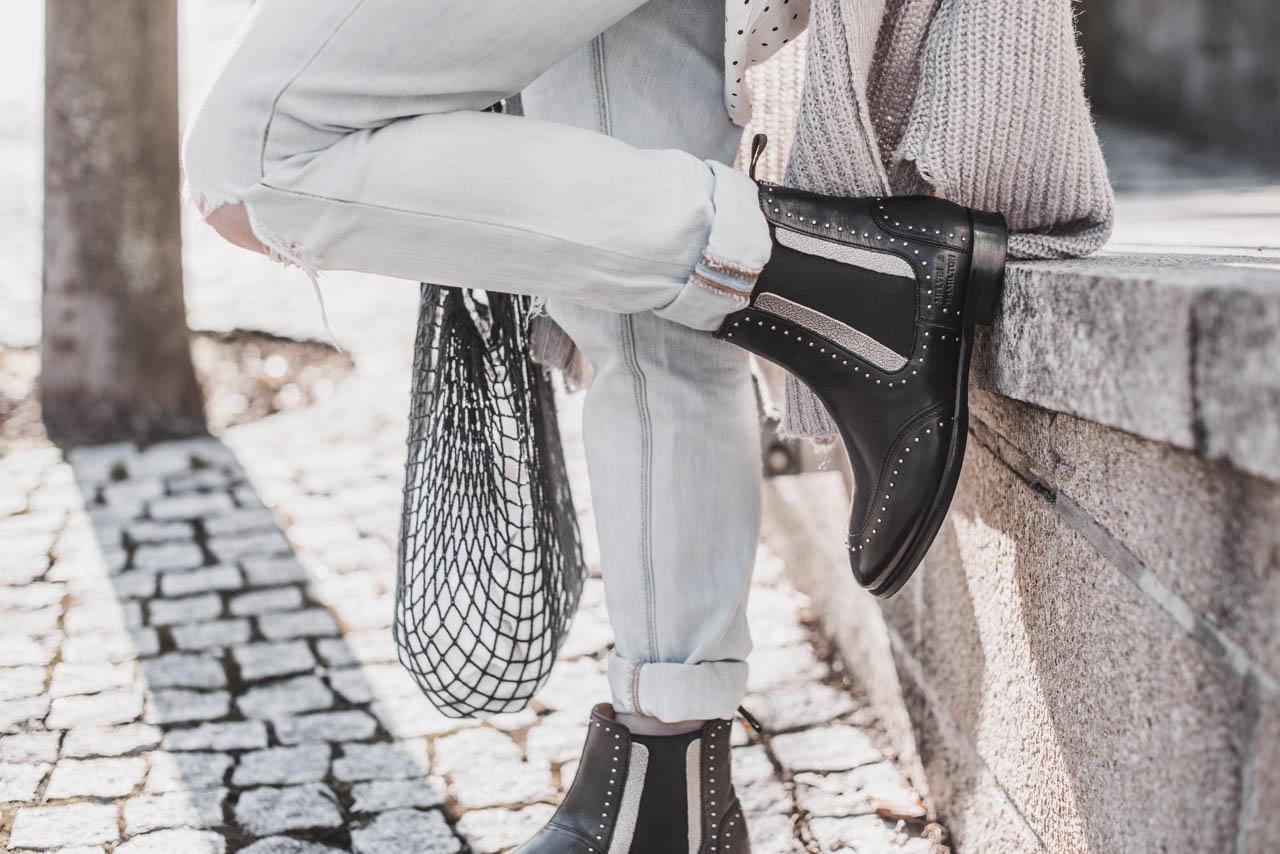 Der Schuhklassiker Chelsea Boots im Frühling - Julies Dresscode