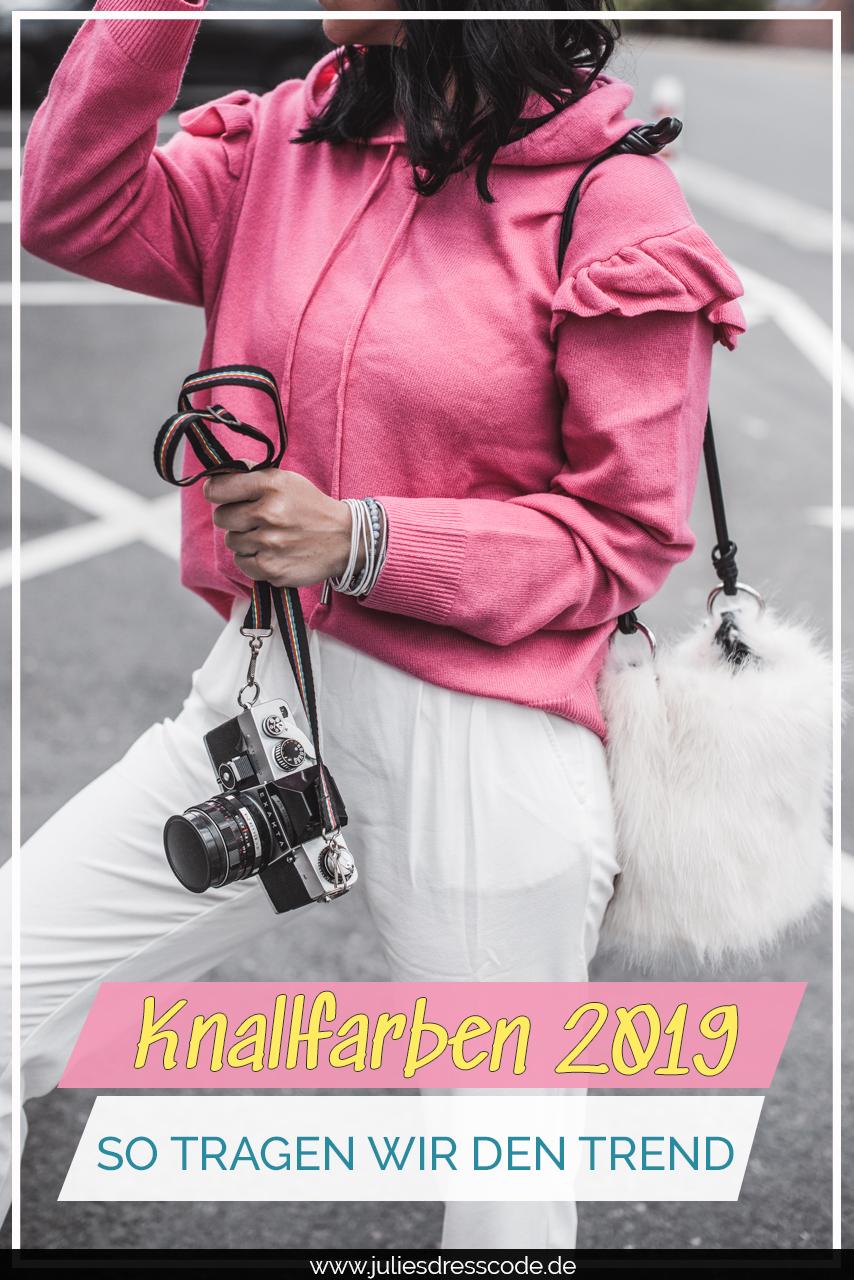 So tragen wir Knallfarben 2019 Trendfarbe 2019 Peter Hahn Julies Dresscode Fashion & Lifestyle Blog