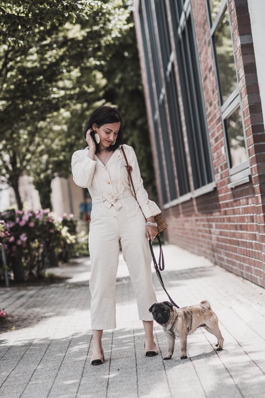 Boilersuits kombinieren - so lässig sind die neuen Overalls Julies Dresscode Fashion & Lifestyle Blog
