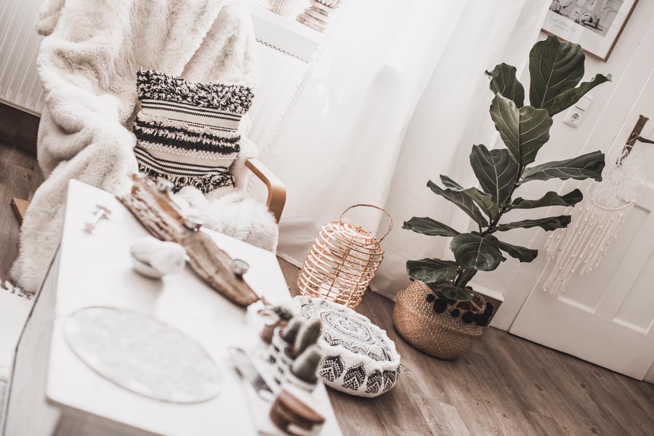 Wohnzimmer Update : Wohnen im Boho Chic - Julies Dresscode