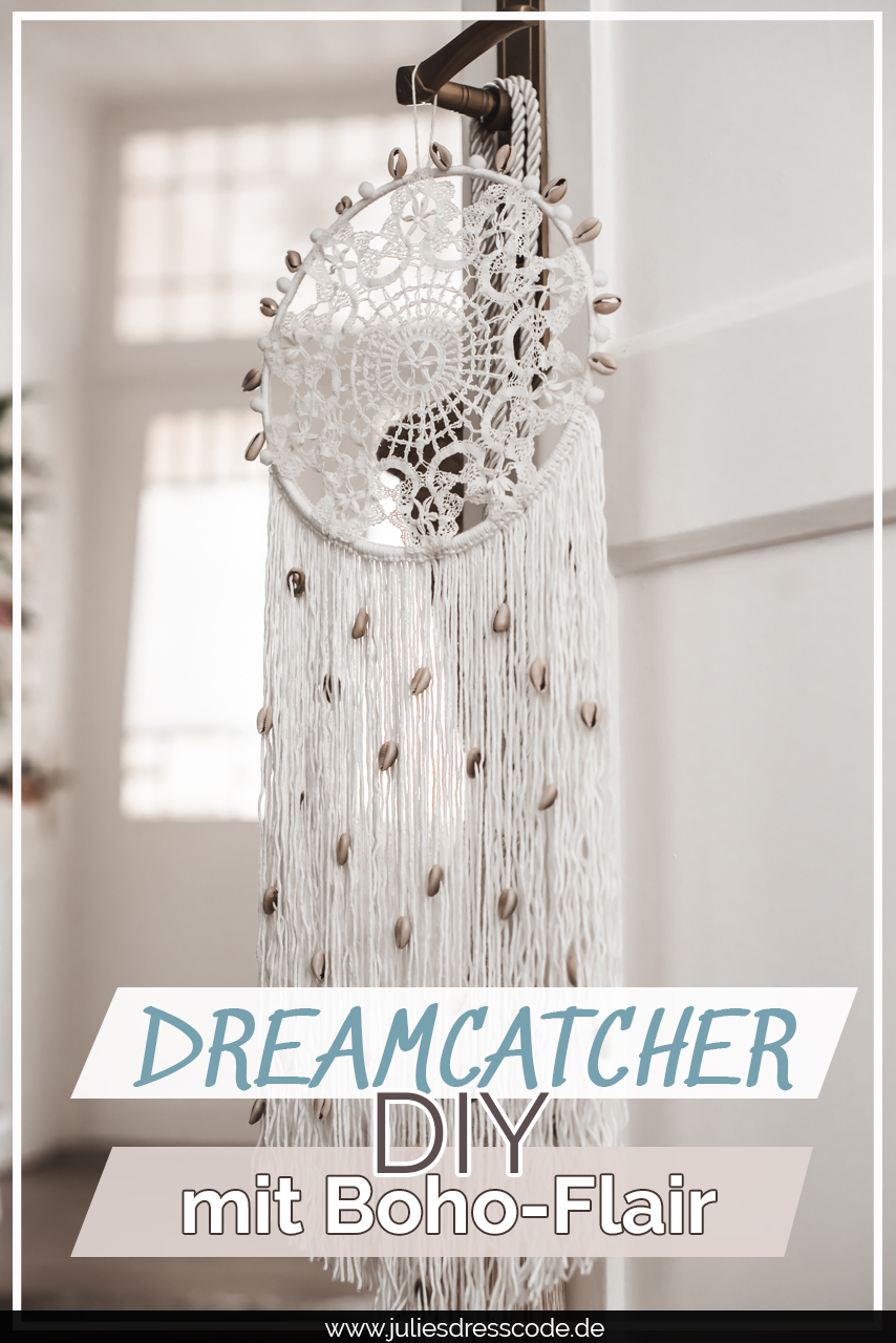 Dreamcatcher DIY : so bastelt du Traumfänger aus Spitze Julies Dresscode Fashion & Lifestyle Blog