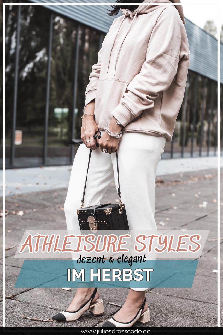 Herbstlicher Athleisure Style 2.0 - so tragen wir casual sportliche Herbstoutfits Julies Dresscode Fashion & Lifestyle Blog