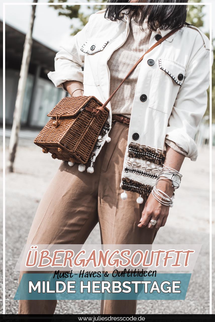 Übergangsoutfit für milde Herbsttage : mit diesen Must-Haves gelingt's Julies Dresscode Fashion & Lifestyle Blog