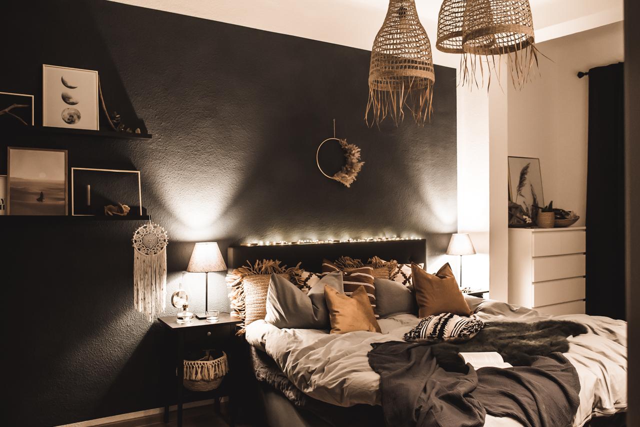 Neues Bett und Deko im Schlafzimmer - Julies Dresscode