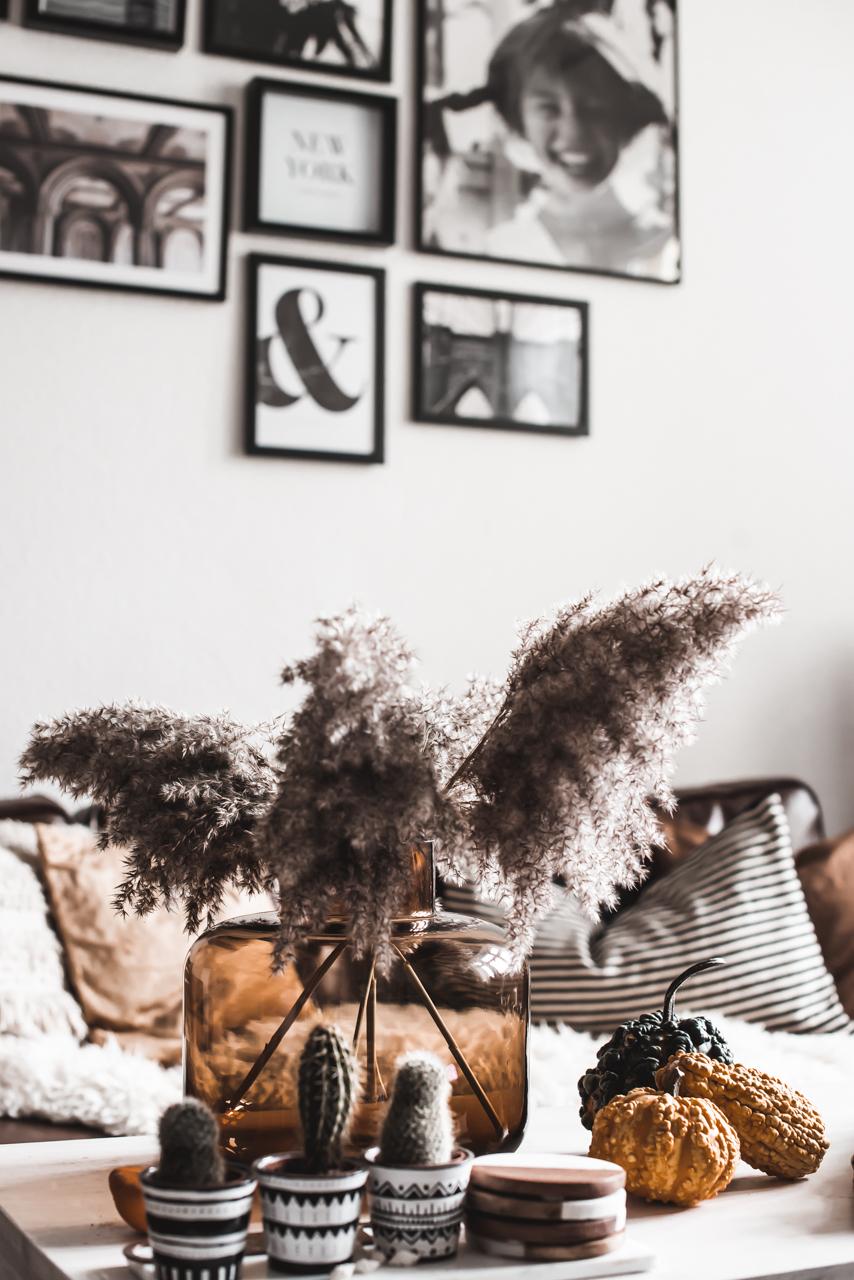 Wohnzimmer herbstlich dekorieren : so wird's gemütlich Julies Dresscode Fashion & Lifestyle Blog