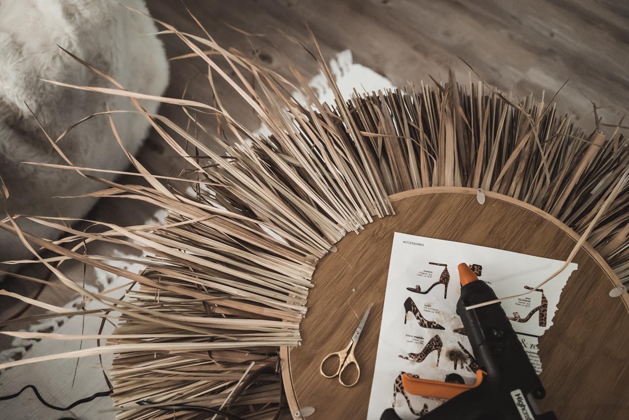 DIY Bohospiegel - so habe ich den Spiegel mit Hippiecharme gebastelt Julies Dresscode Fashion & Lifestyle Blog