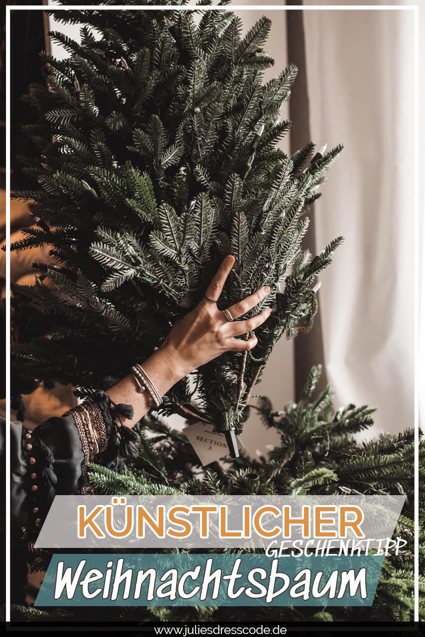 Ein künstlicher Weihnachtsbaum von Balsam Hill als Weihnachtsgeschenk Julies Dresscode Fashion & Lifestyle Blog