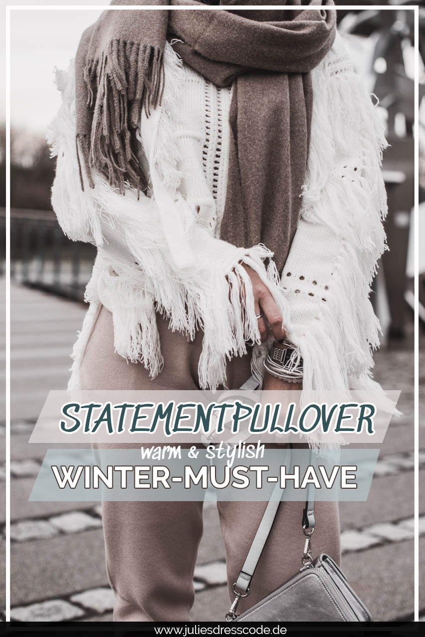 Gemütliche Statementpullover aus Strick : so klappt der Winterlook Julies Dresscode Fashion & Lifestyle Blog