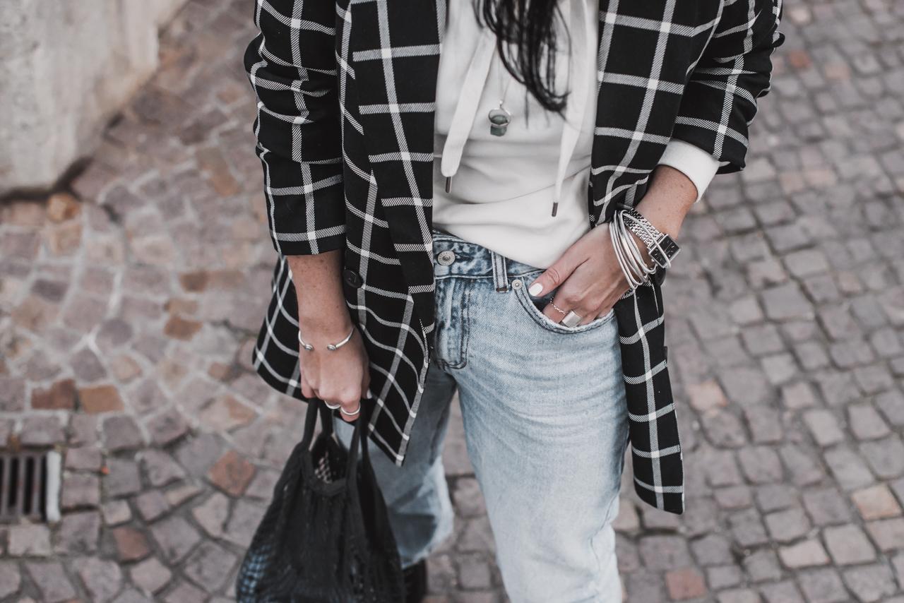 Goodbye skinny Jeans - Weite Jeans kombinieren Julies Dresscode Fashion & Lifestyle Blog