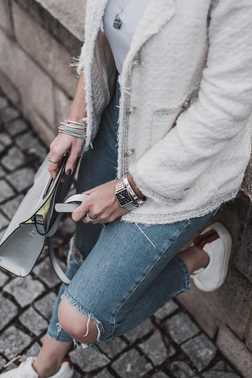 Tweed modern kombinieren Julies Dresscode Fashion & Lifestyle Blog