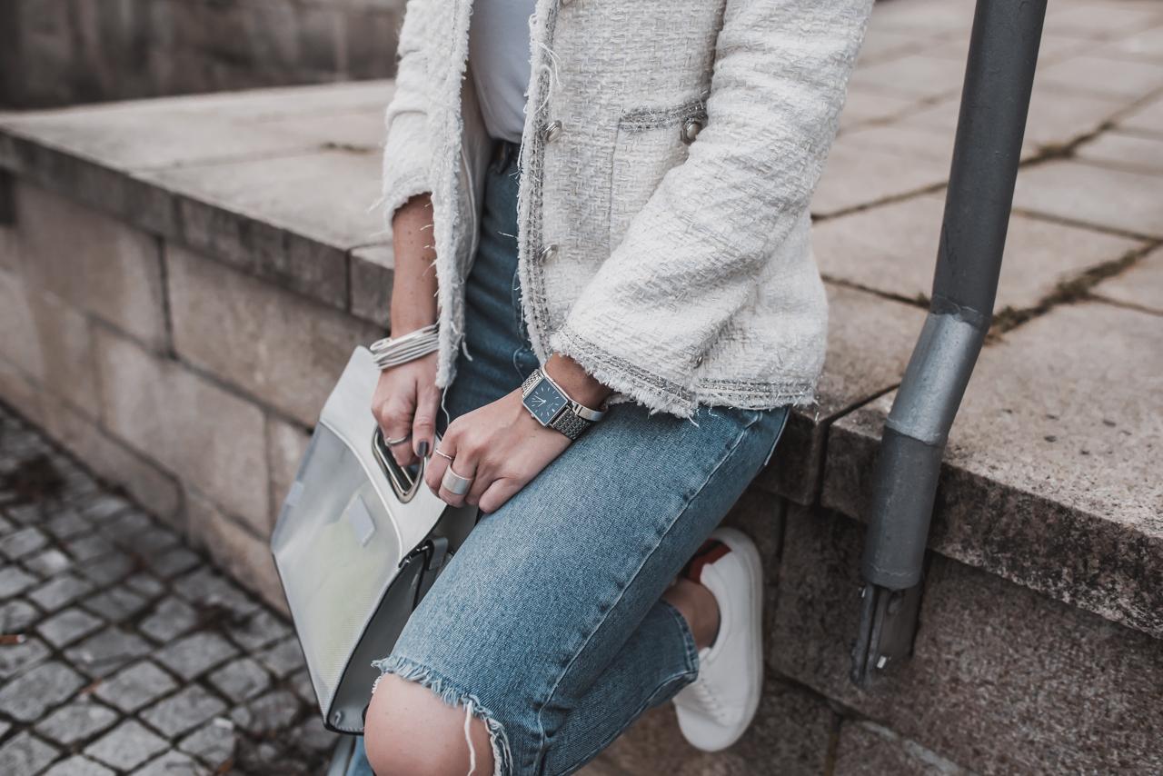 Tweed modern kombinieren
