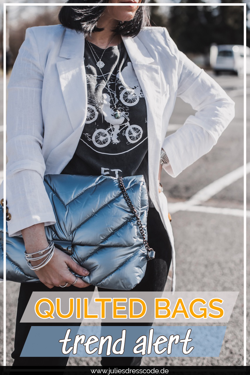 Trend Alert: gepufferte Quilted Bag - so tragen wir sie Julies Dresscode Fashion & Lifestyle Blog