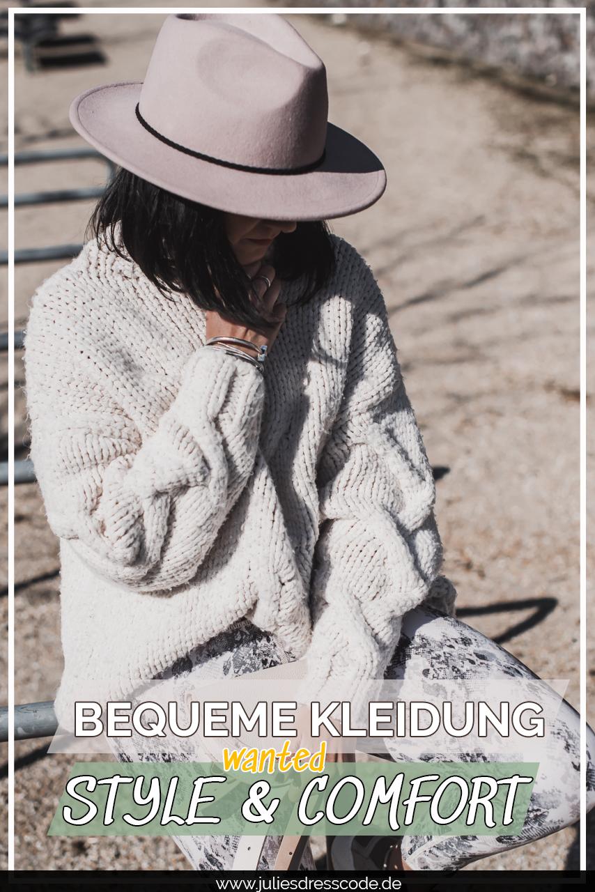 Bequeme Kleidung - was tragen wir in der Stay Home Zeit? Julies Dresscode Fashion & Lifestyle