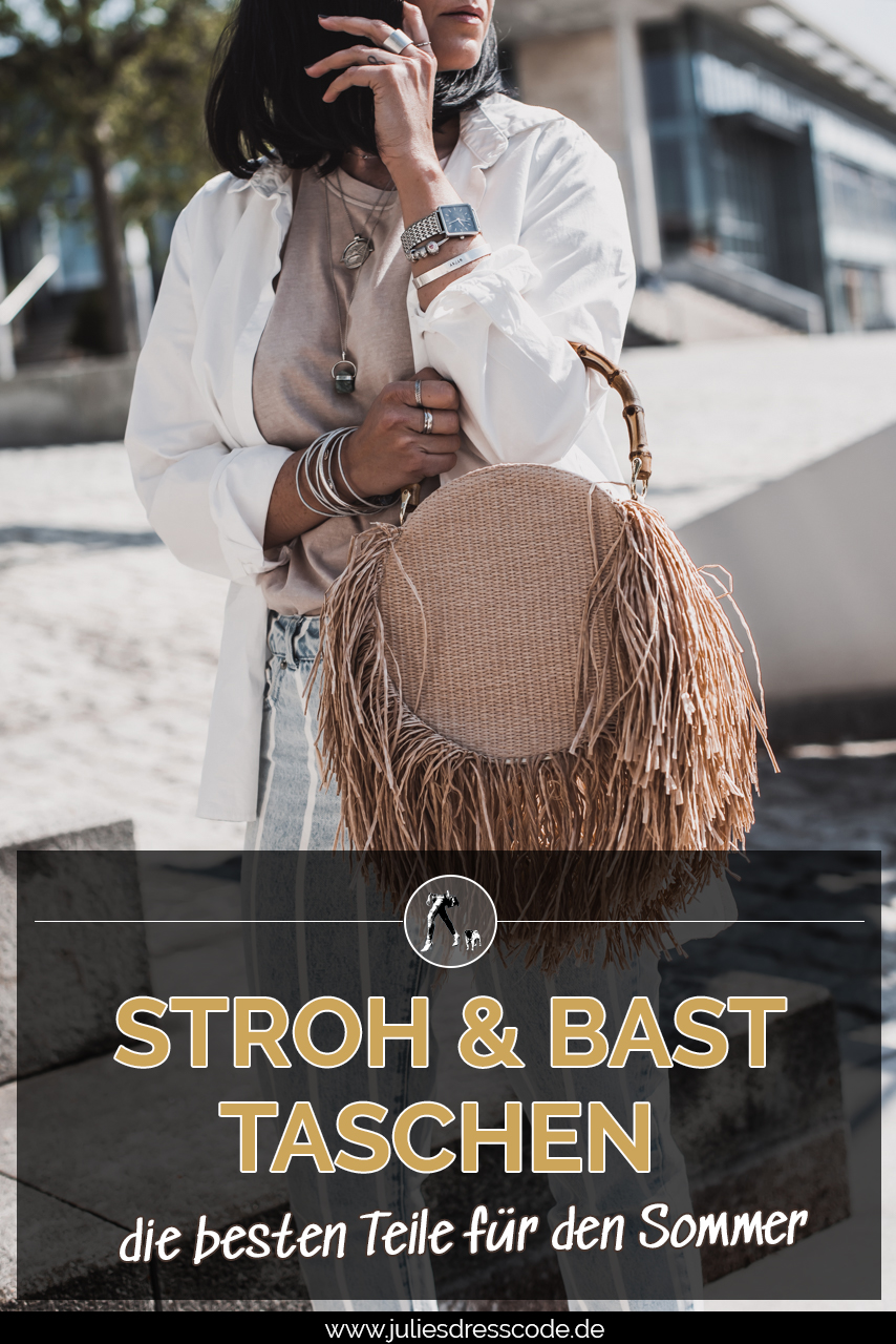 Die schönsten Taschen aus Stroh & Bast Julies Dresscode Fashion & Lifestyle Blog