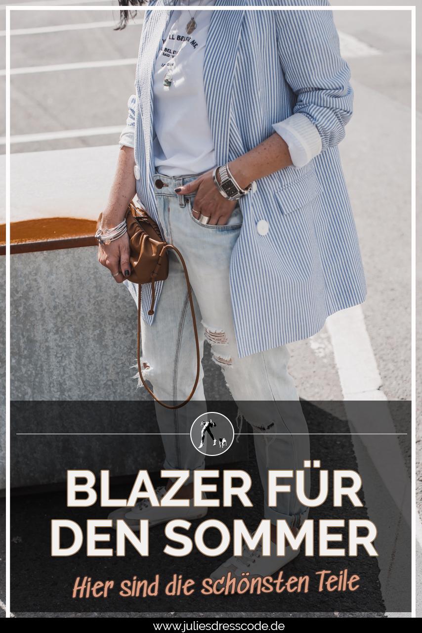 Die schönsten Blazer für den Sommer Julies Dresscode Fashion & Lifestyle Blog