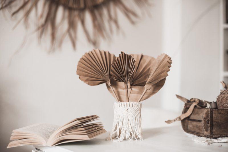 DIY Idee : Palmenblätter aus Papier selber machen