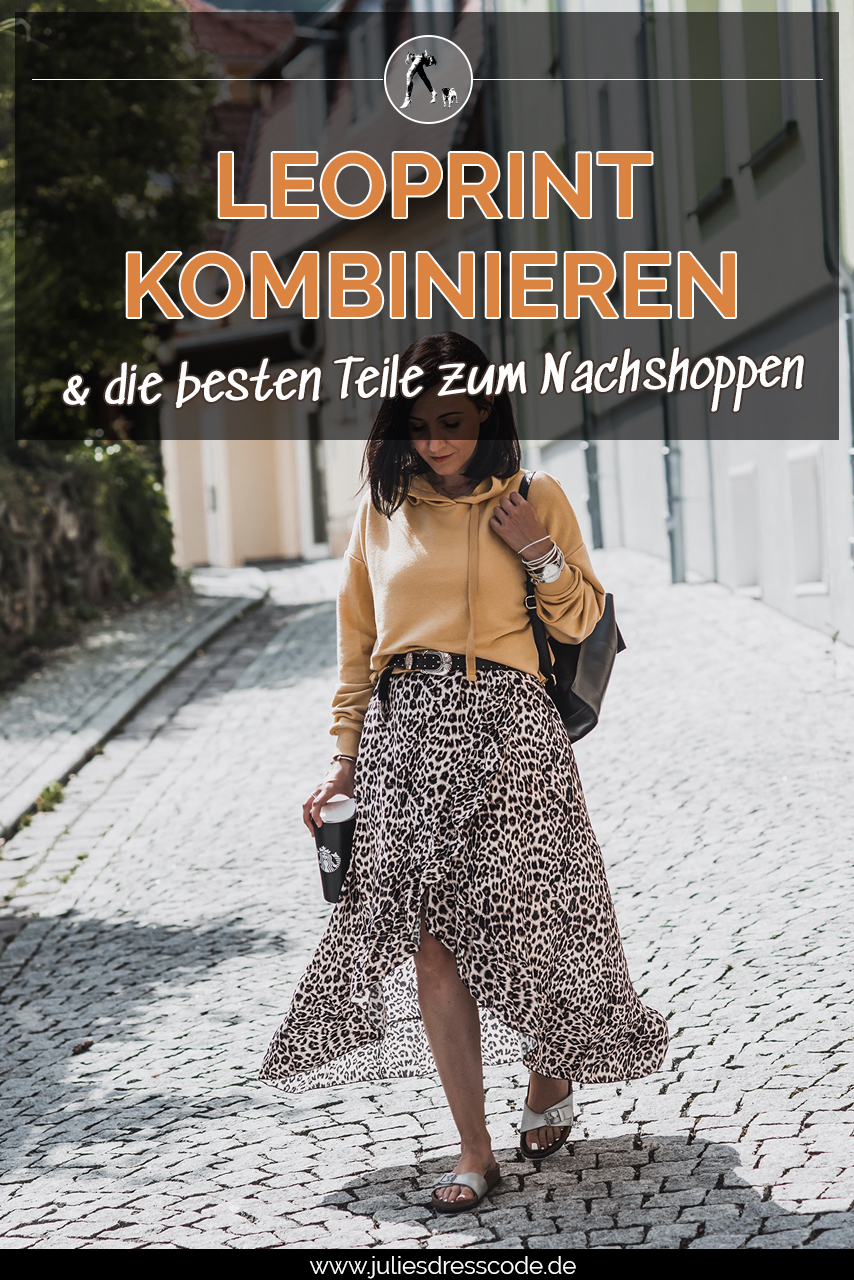 So tragen wir den Leoprint - Outfits & Shoppingtipps Julies Dresscode Fashion & Lifestyle Blog